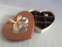 Cute paper chocolate box personalized chocolate packaging box wholesale