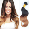 Bulk buy from china, 2015 new products two tone colored brazilian hair weave