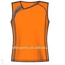 Asymmetric design your own tennis/badminton/volleyball jersey design