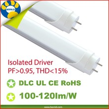 Promotional UL/TUV/DLC CE/RoHS Listed 2ft 4ft 5ft 18w 20w 1200mm fluorescent 18-20w t8 led tube lights