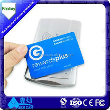 Classic 1K rfid card/NFC business card/blank smart card with custom printing service
