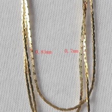 Hot Sale New Style Fashion Raw Color Square Brass Jewelry Chain 245COB For Jewelry, Shoes ,Bags , Clothes Accessory