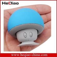 Waterproof Mini Mushroom Wireless Bluetooth Speaker+mobile phone holder