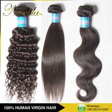 2015 Best Selling Products 27 Piece 4Inch Human Hair Weave Extensions