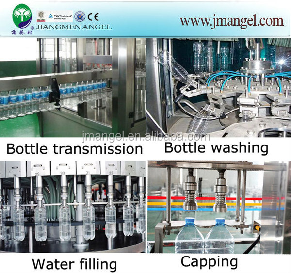 11YR Gold Supplier Guangdong Jiangmen Angel Bottle Filling Machine With One Year Global Warranty