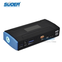Suoer low price car jump starter 16800mAh car battery charger emergency power supply