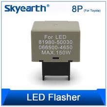 Car LED daytime running lights/ flashing function 0.1w12*2 flasher