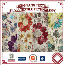 Turkey Bed Sheet Velboa Flower Printed Fabric for Bed Covering