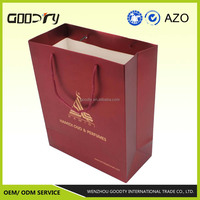 Wenzhou manufacturer printing logo designed commercial paper bag for Christmas