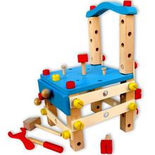 Nuevo diseño inteligente de madera juguete diy pintura