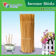 wholesale golden raw bamboo incense stick