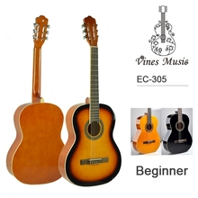 "39""36""34"" inch good quality beginner concert classical guitar"