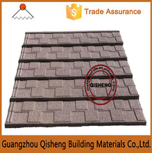 Hot Sales Stone Coated Roofing Products / House End Decoration Metal Sand Roof Tile