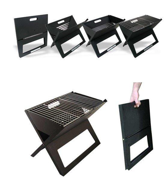 Facile report de camping balcon x forme portable portable - Barbecue portable charbon ...