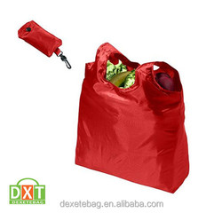 210d polyester foldable shopping bag/shopping bag