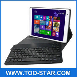 Universal Stand Keyboard Leather Case With Detachable Bluetooth Keyboard For Teclast X16 Pro / X16 Power