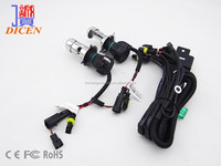 New 12v 55w H4-3 Hi Lo HID Bulb with Reply Harness