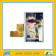 480*272 4.3 inch wqvga lcd screen with resistive touch screen and RGB interface