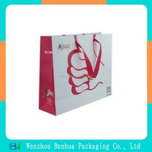 Custom Made Paper Shopping Bag printing Raw materials of paper bag