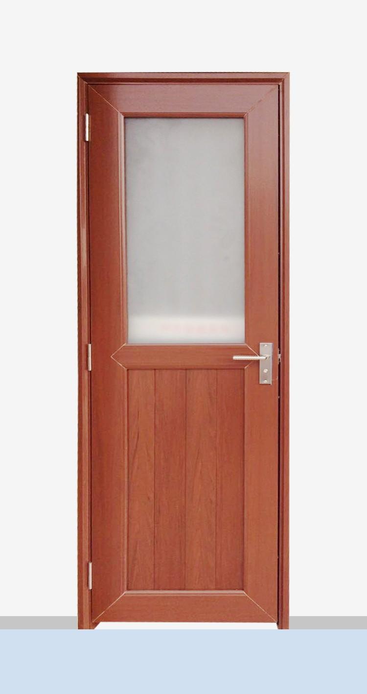 Upvc Low Price Casement Door Bathroom Door Fiber Bathroom