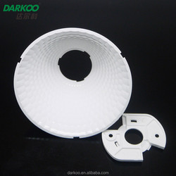 White COB led lampshade DK8560-REF-K-B 85mm 85 degree high efficiency new product