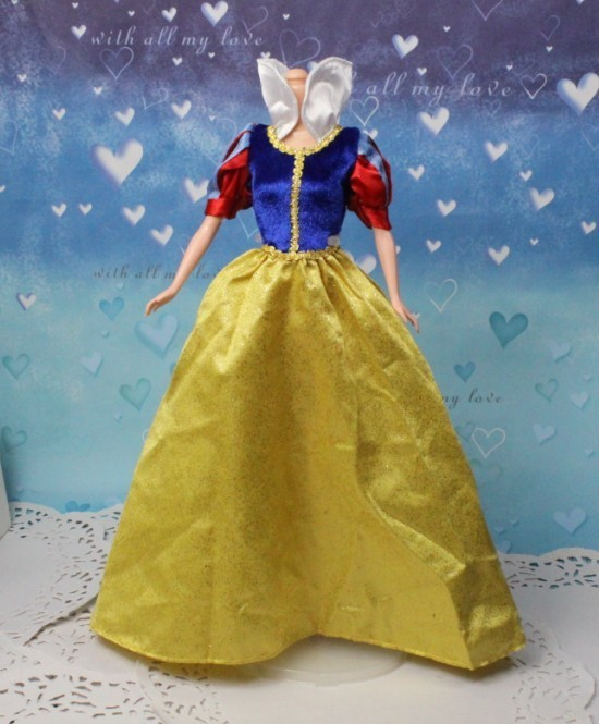 Free Transport,new 5pcs/lot Princess Gown courtroom gown Doll Garments for Barbie Doll