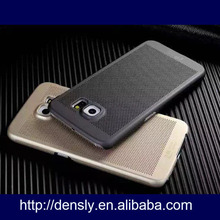 2015 new arrived gridding thin case for samsung galaxy s6 case