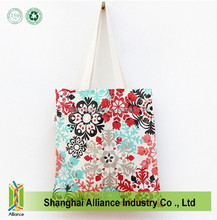 Hot sale High Quality full print cotton bag,cotton canvas bag,cotton cloth tote bag