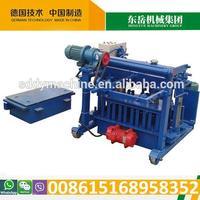 Hot Machinery QT40-3A egg laying block machine mobile block machine