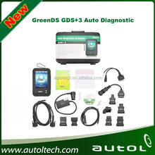 OEMScan GreenDS GDS+3 Cost Effective Big Screen GreenDS GDS 3 Compare with Carman Autel DS708 With Printer