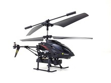 WL S977 3.5CH Metal Radio Control Gyro Rc Helicopter w/ Video Camera