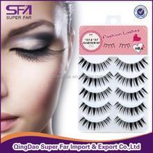 buy false eyelash in bulk stock hand made synthetic eyelashes