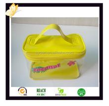 bone glue zipper bag for cosmetic packaging