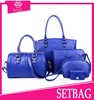 Cheap price bags women fashion handbags set imported dirctly from factory