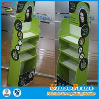Plastic new corrugated material advertising poster frame for price display