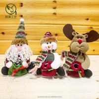 christmas bag for table decorations,christmas bag with santa snowman reindeer