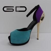 new fashion fancy peep toe styles women fish mouth pumps shoes