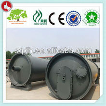 waste tyre pyrolysis plant with 8-10T/D capacity tyre and rubber pyrolysis plant