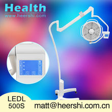 LEDL500S exam light as medical examination kit