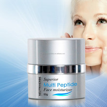 Superior Multi Peptide Face Moisturizer Anti Aging Anti Wrinkle Natural Organic Anti Aging Cream with Precious Plant Extract
