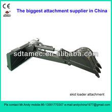 backhoe arm for skid steer loader (skid loader attachment,bobcat attachment)