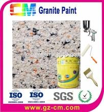 lavable rock rebanada de granito textura pintura de paredes exteriores
