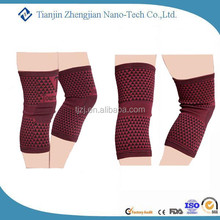 Fashion sports protective full set gift choice magnetic fiber knee support sleeve