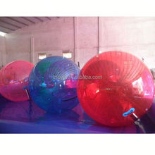 water ball game , LZ-W752 inflatable water ball 7 foot clear