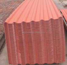 Easily install synthetic resin building material spanish roof tile sales