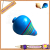 Factory directly sale wooden cheap spinning top toy
