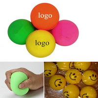 Promotional Gift Logo Printed PU Squeeze Ball