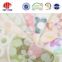 fashionable and comfortable dubai flannel home textile fabric