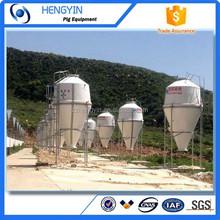 Cerdo cría equipo de diseño granja silos para el cerdo granja