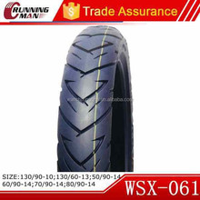 Hot Selling In Philippines Motorcycle Tire 80/90-14